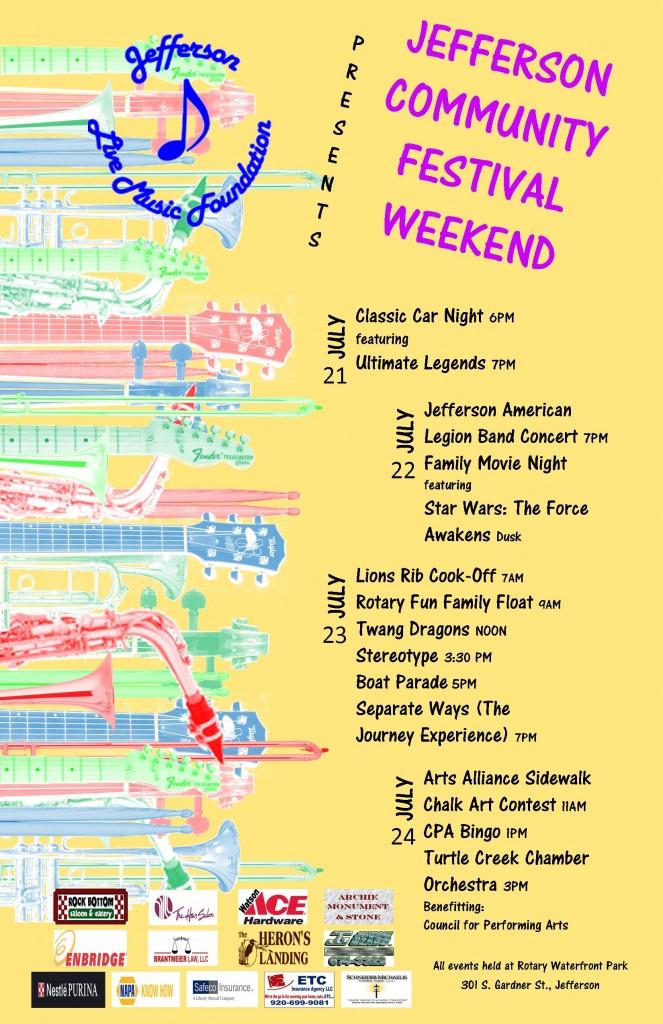 Jefferson Community Festival Option 1